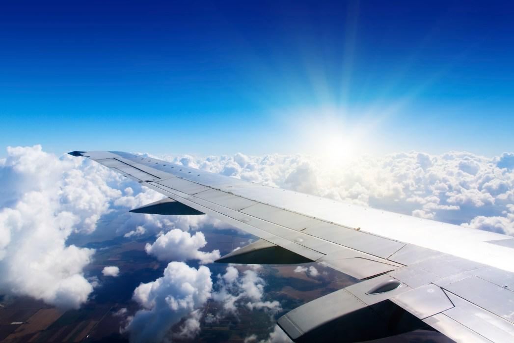 Flugfenster Aussicht