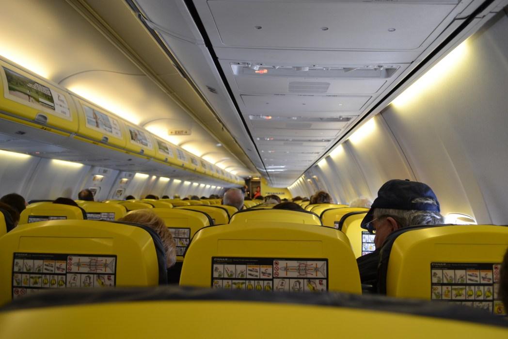 Ryanair Sitze